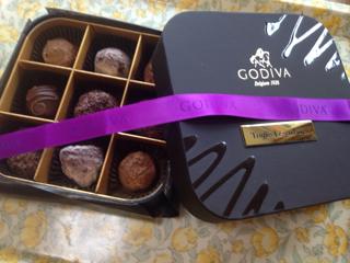 わーい チョコレート